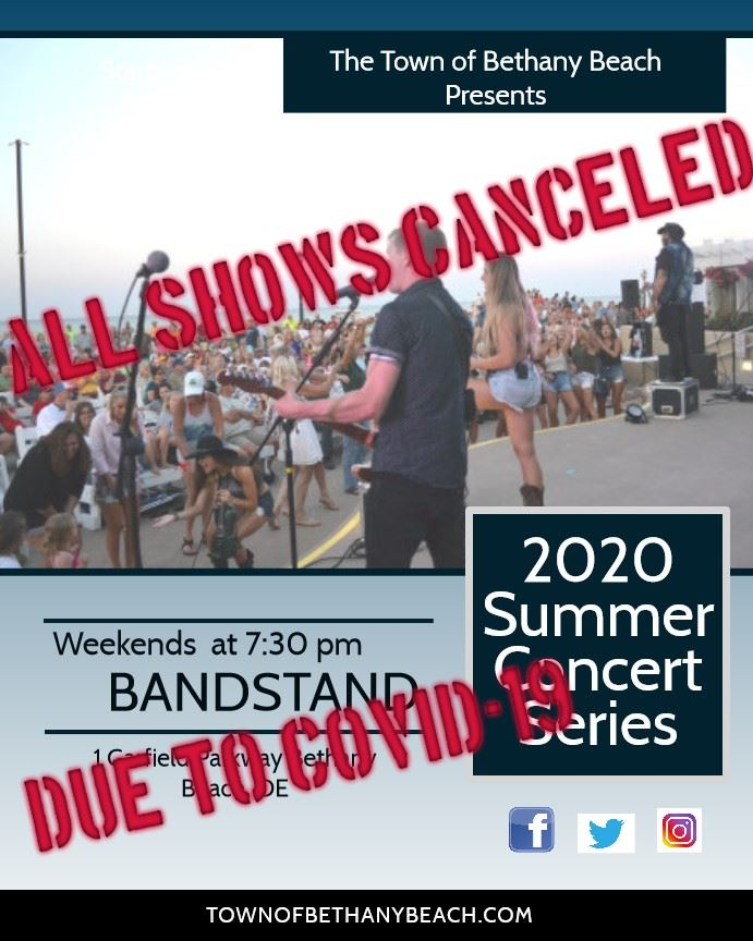Bandstand Canceled 2020